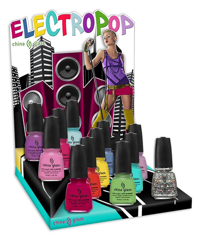 China Glaze – Electropop collection