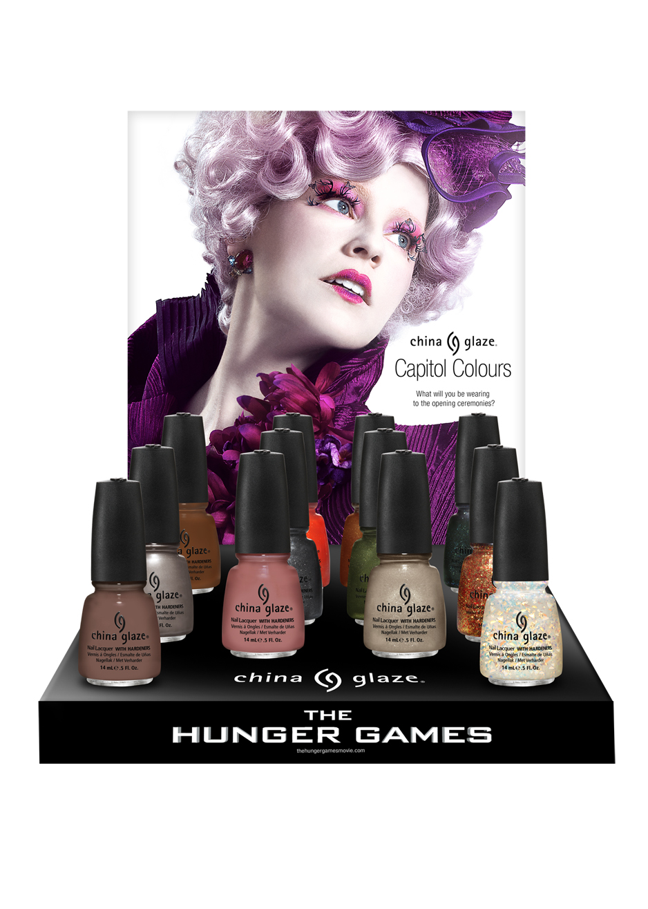 China Glaze – The Hunger Games collection