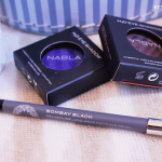 Nabla Cosmetics: H2O eyeshadows and Bombay Black eyeliner
