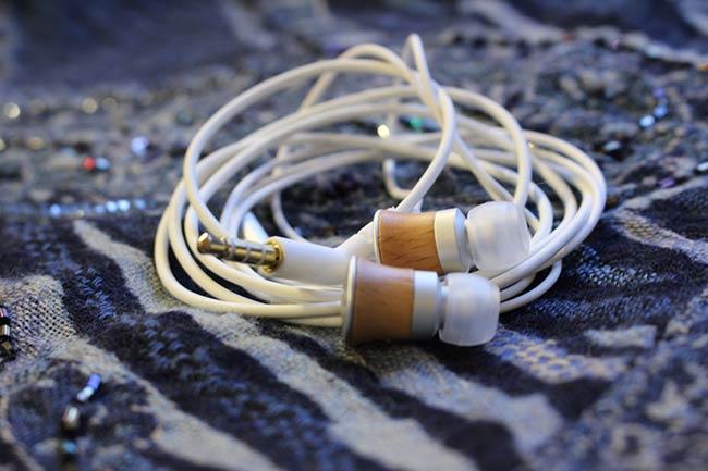 Meze wood earphones