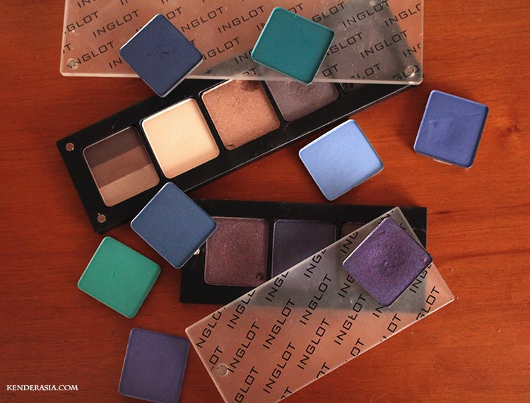 Inglot Eyeshadows Collection