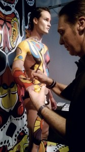 Paint by Number: Body Painting, Art and Mac Pro