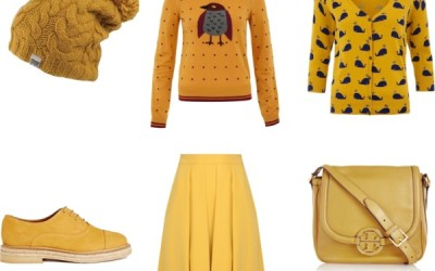 Misted Yellow – Fall Winter 2014-15 Colour Trend